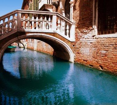 Bridge through water channel