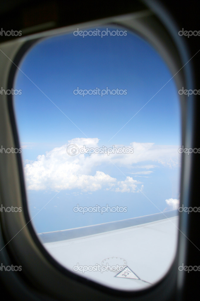 Airplane porthole