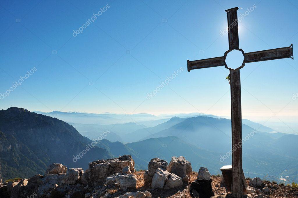 Put a cross on top