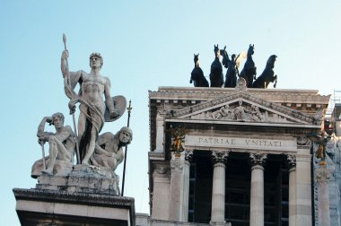 The Victor Emmanuel II Monument in Rome