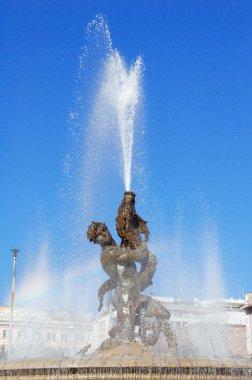 Fountain in Piazza della Republica, Rome