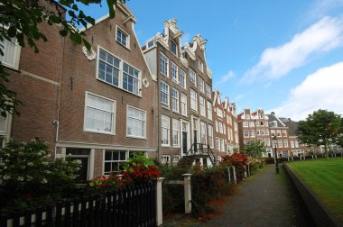 Houses in Amsterdam, Netherlands