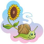 Děti abeceda: písmeno S