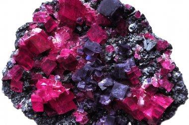 Fluorite Gem mine in nature