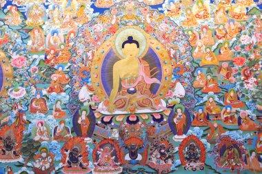 Buddhism painting artwork of tibet