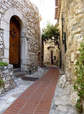 Eze old village street