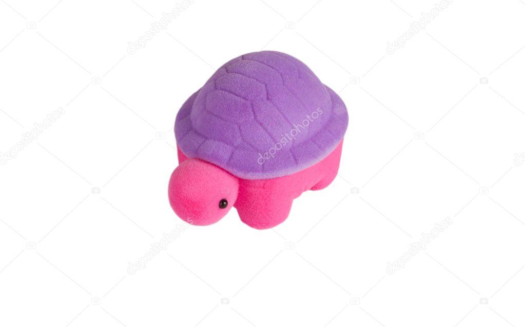 juguete suave tortuga color — Foto de stock © spectr #3350024