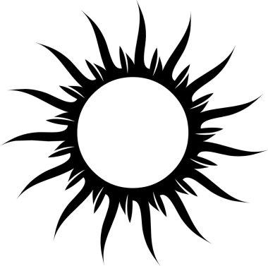 Tattoo sun