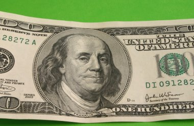One hundred dollar note