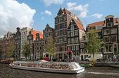 Fotografie amsterdamské kanály