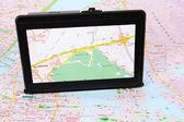 GPS s mapou