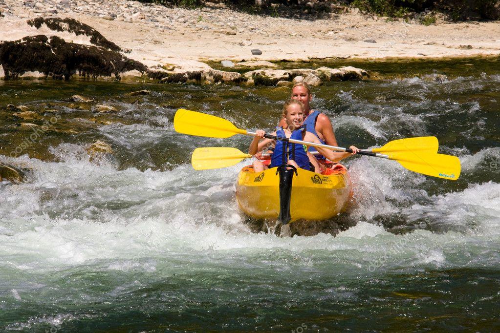 on canoe