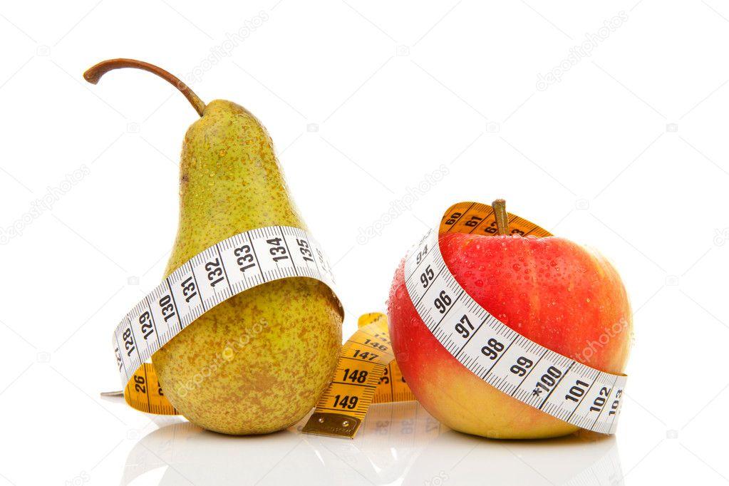 Грушевая яблочная диета на