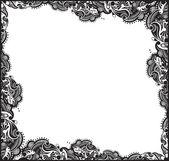 Fotografie abstrakte florale Rahmen als Hintergrund