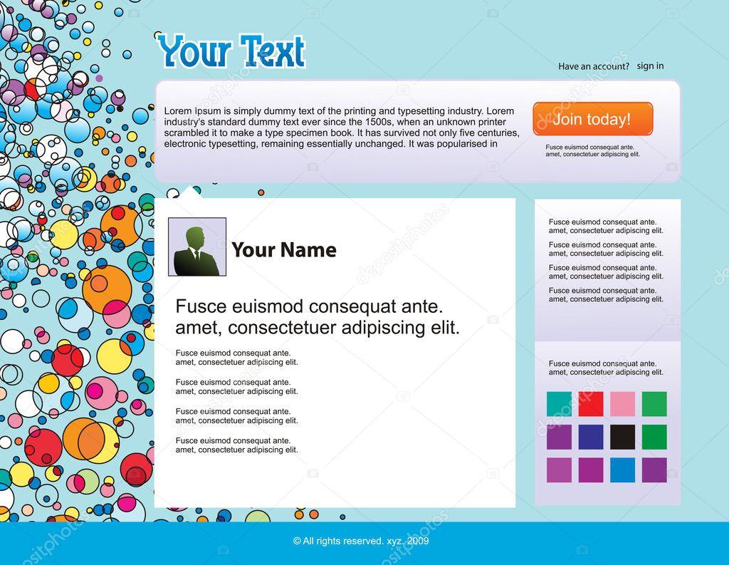 Twitter Themes Stock Vector Redshinestudio 3128077
