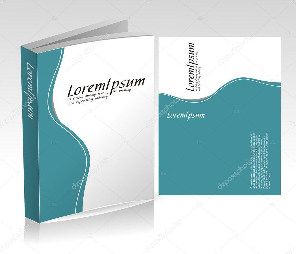 Book Cover Illustration Price : Book cover design — stock vector redshinestudio