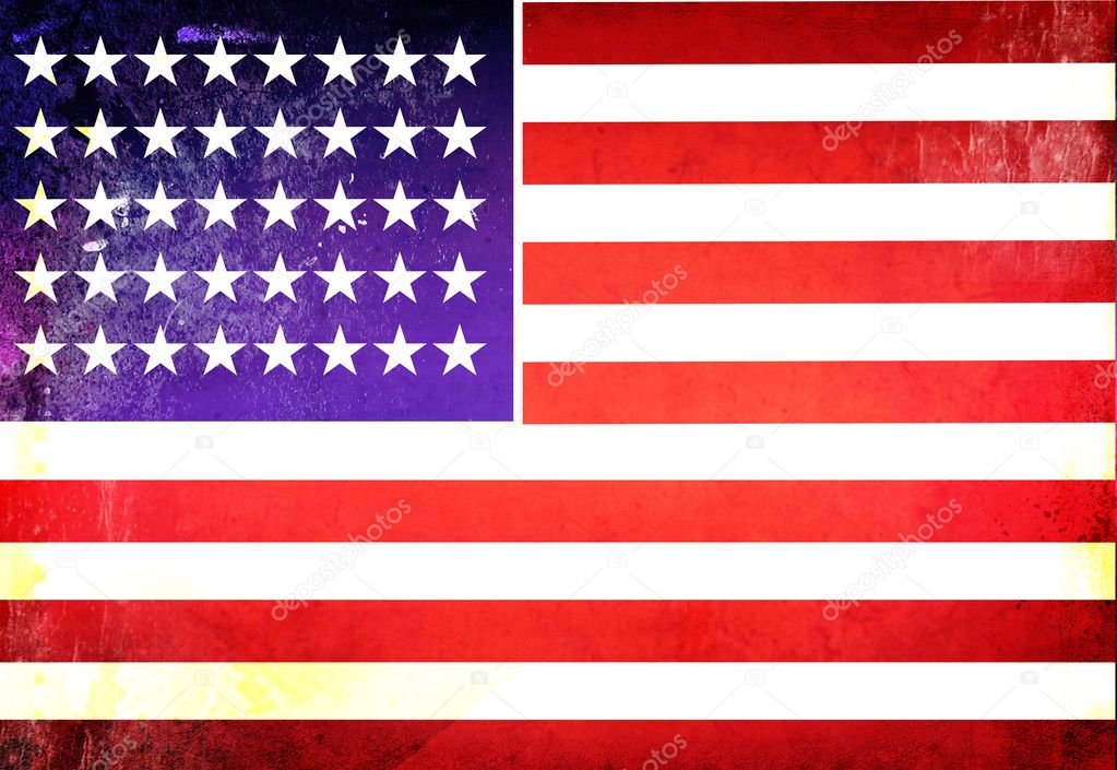 American Flag Grunge Textures Photo By Redshinestudio