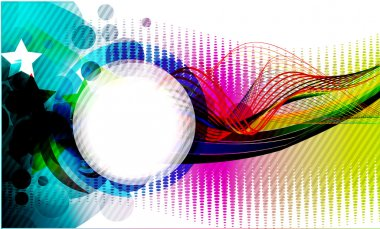 Abstract colorful background. eps10 Vector illustration. clip art vector