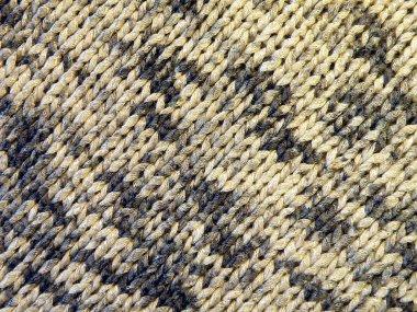Pied knitting