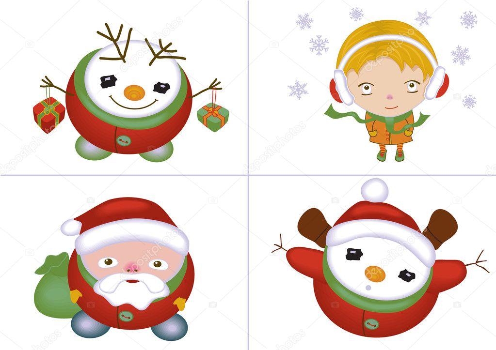 Weihnachten Zeichen Satz — Stockfoto © yaskii #2738791