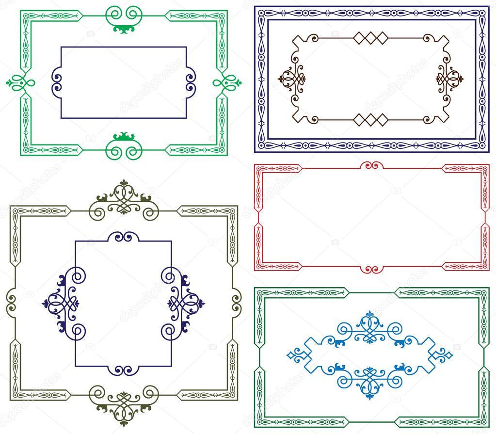 Decorative border for design