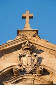 Fotografie monumentální kostel detail