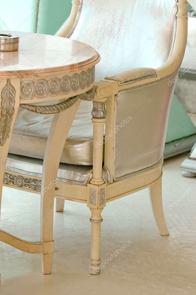 muebles de moda — Foto de stock © c-foto #3760391