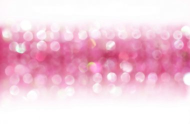 Pink background with bokeh