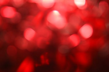 Red background bokeh