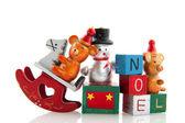 staré vánoční hračky