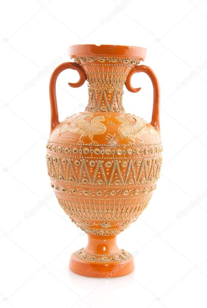 Antique Greek Vase Stock Photo Ivonnewierink 3144301