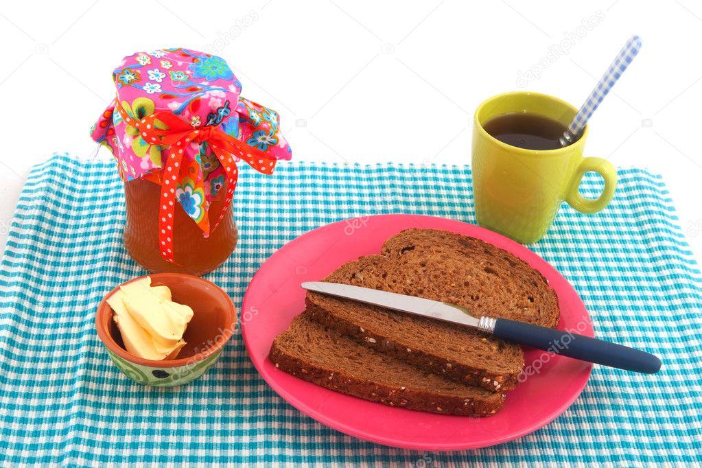 Breakfast — Stock Photo © ivonnewierink #3822869