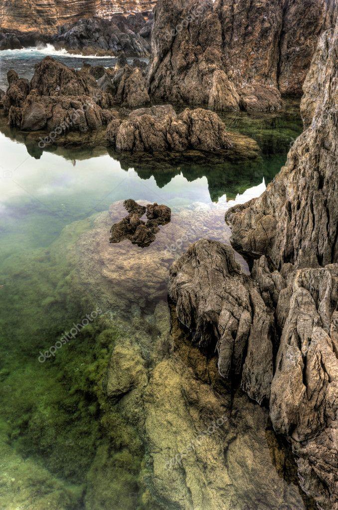 Porto moniz di piscine naturali isola di madeira portogallo foto stock brozova 3351770 - Isola di saona piscine naturali ...