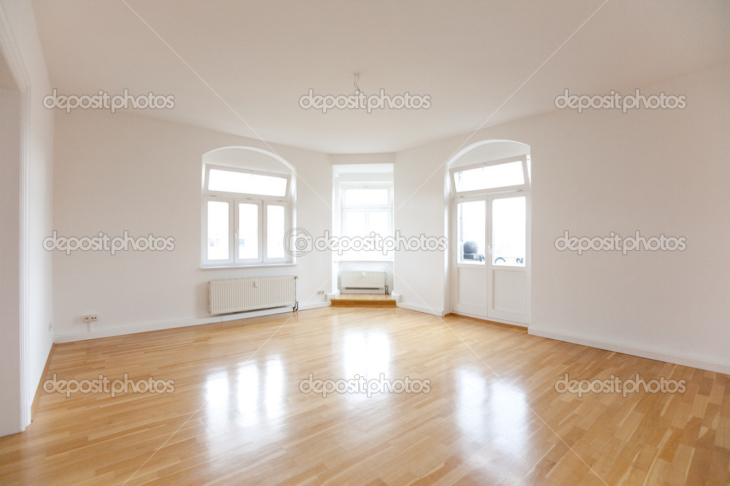 Lege Zolder zoals woonkamer — Stockfoto © d.aniel #3192592