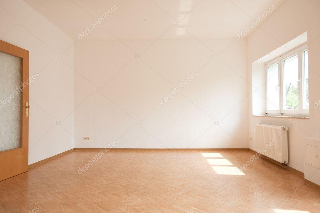 Apartamento Vazio Como Sala De Estar Fotografias