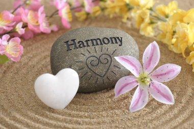 Harmony in zen garden