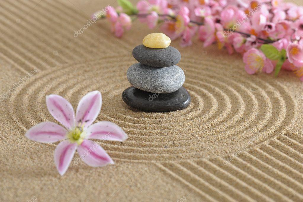 Giardino zen foto stock filmfoto 3827905 - Foto giardino zen ...