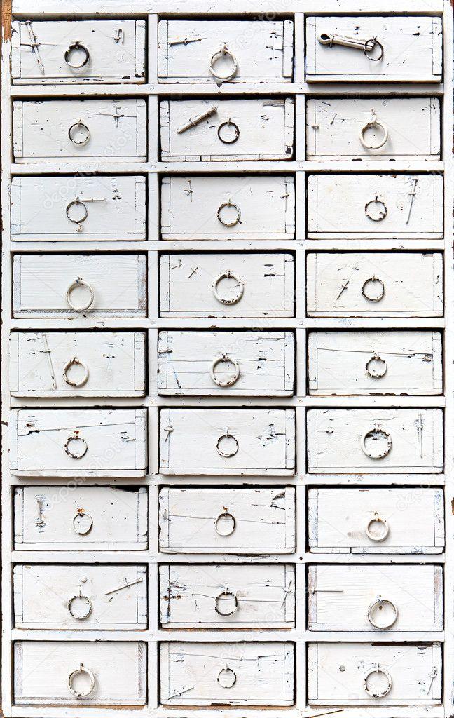 Najnowsze Stara komoda z szufladami — Zdjęcie stockowe © apeyron #3496577 YG79