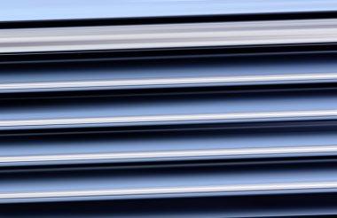Corrugated glazed background