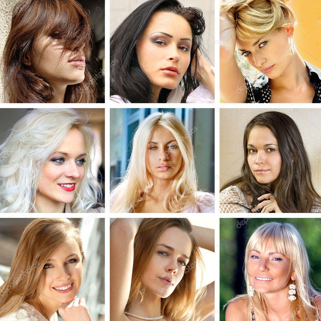 лица женщин фото