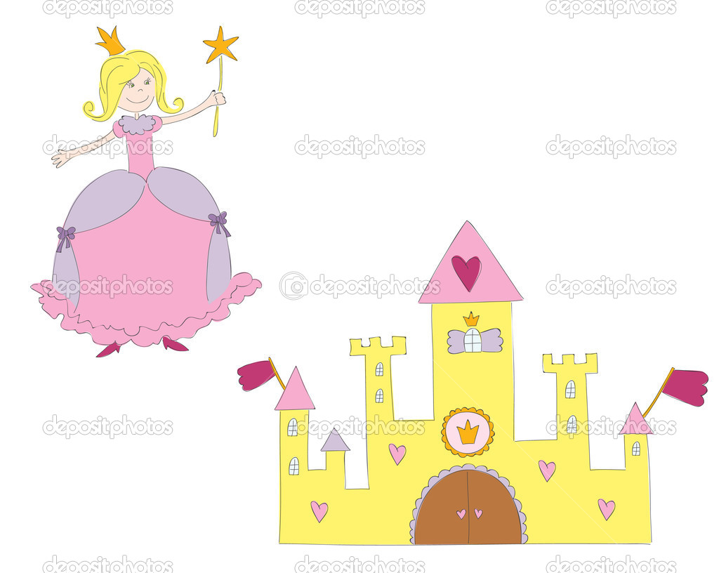 Princess and castle