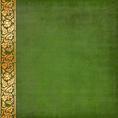 Old , green, grunge background