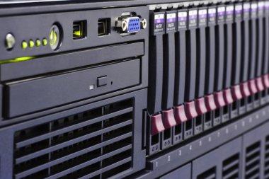 Rack of computer