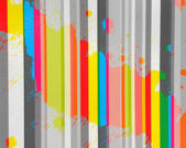 Carta con spruzzi di colori dellacqua