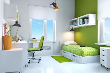 Interior of teenage