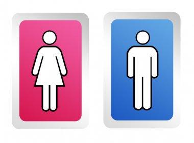 Woman and man symbol