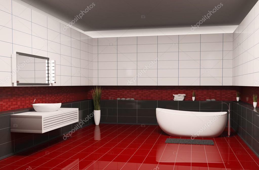 łazienka Wnętrza 3d Zdjęcie Stockowe Scovad 3053959
