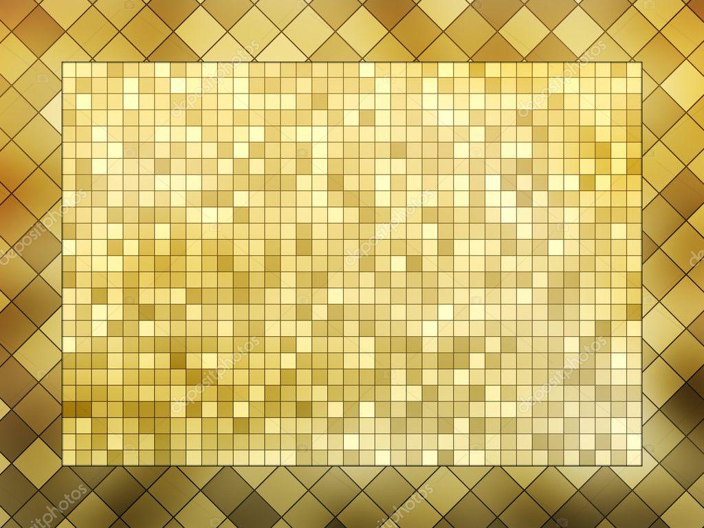 Mosaik-Rahmen — Stockfoto © scovad #3349311