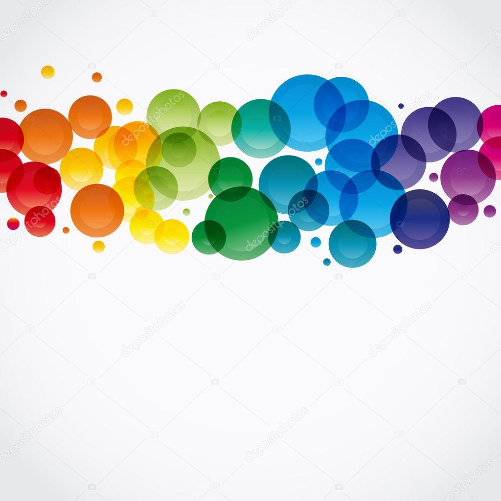 Абстрактный красочный фон. вектор