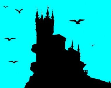 Swallow's nest in Crimea